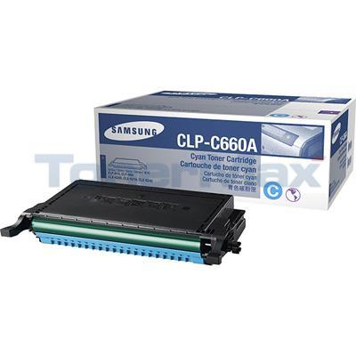 SAMSUNG CLP610ND TONER CART CYAN 2K